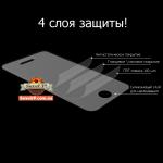 Структура защитной пленки для телефона