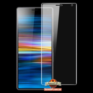 Защитная пленка для Sony Xperia 10 на весь экран REAL Hydrogel