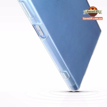 Прозрачный силиконовый чехол для Sony Xperia XA1 Plus G3412 TEXTURIZED