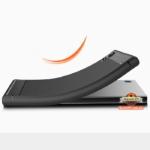 Карбоновый TPU чехол для Sony Xperia XA1 Ultra G3212 черный
