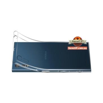 Прозрачный силиконовый чехол для Sony Xperia XZ F8332 TEXTURIZED