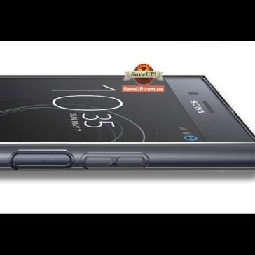 Прозрачный силиконовый чехол для Sony Xperia XZ1 Compact G8441 TEXTURIZED
