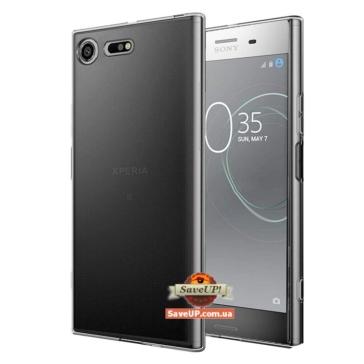 Прозрачный силиконовый чехол для Sony Xperia XZ1 G8342 TEXTURIZED
