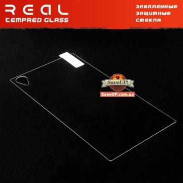 Защитное стекло для Sony Xperia Z1 С6902 / C6903 на заднюю крышку REAL Tempered Glass Protector 0.33 mm