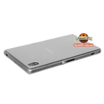 Тонкий чехол накладка для Sony Xperia Z1 C6902 Ultra Thin Armor 0,3 мм белый