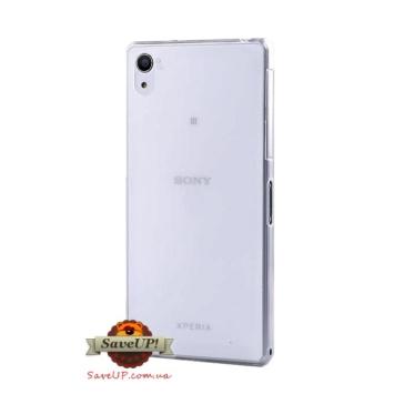 Тонкий чехол накладка для Sony Xperia Z2 Thin Ultra Armor 0,3 мм белый