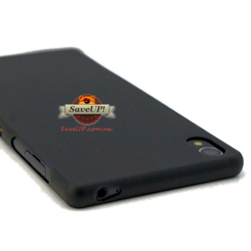 Тонкий пластиковый чехол для Sony Xperia Z3 D6603 / Z3 Dual D6633 Thin Ultra Armor 0,3 мм. чёрный