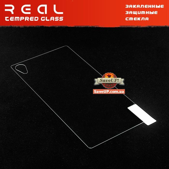 Защитное стекло для Sony Xperia Z3+ / Z3+ Dual / Z4 на заднюю крышку REAL Tempered Glass Protector 0.33 mm