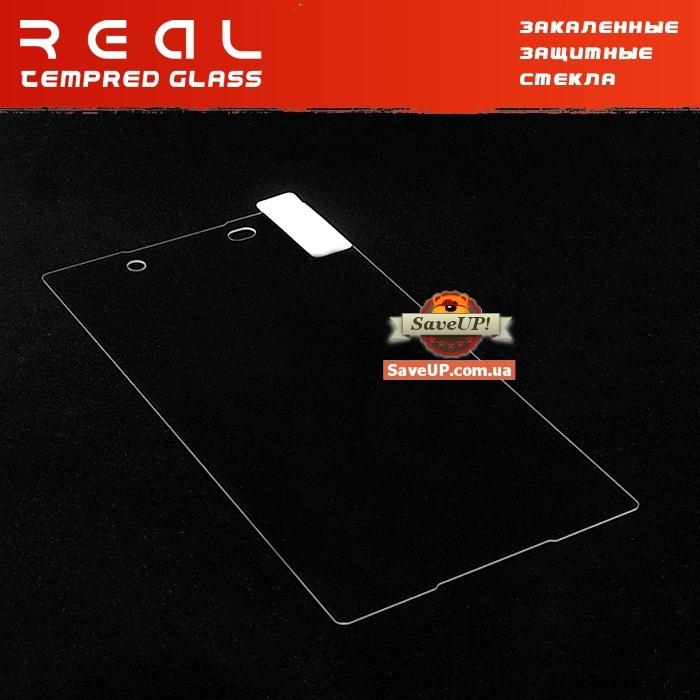 Защитное стекло для Sony Xperia Z3+ / Z3+ Dual / Z4 на экран REAL 0.33 mm 9H