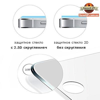 Защитное стекло с 2.5D скруглением краев