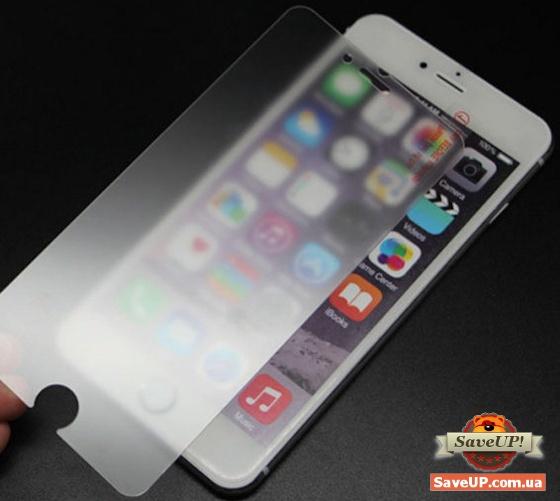 Матовое защитное стекло на телефон